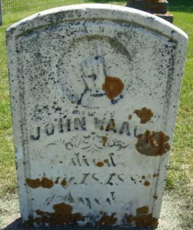 WAACK, JOHN - Clayton County, Iowa   JOHN WAACK