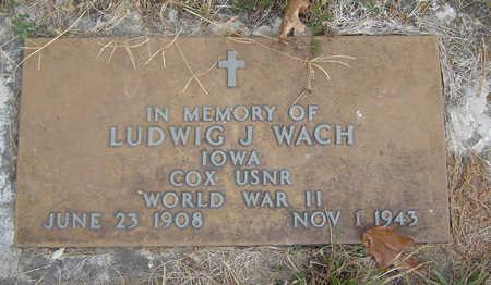 WACH, LUDWIG J. - Clayton County, Iowa | LUDWIG J. WACH