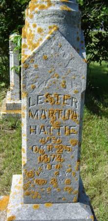 WAIT, HATTIE - Clayton County, Iowa | HATTIE WAIT