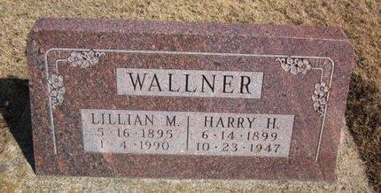WALLNER, HARRY H. - Clayton County, Iowa   HARRY H. WALLNER