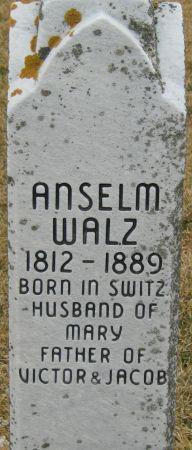 WALZ, ANSELM - Clayton County, Iowa | ANSELM WALZ