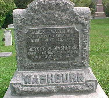 WASHBURN, BETSY W. - Clayton County, Iowa   BETSY W. WASHBURN