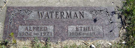 LORTON WATERMAN, ETHEL - Clayton County, Iowa | ETHEL LORTON WATERMAN