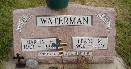 WATERMAN, PEARL M. - Clayton County, Iowa | PEARL M. WATERMAN