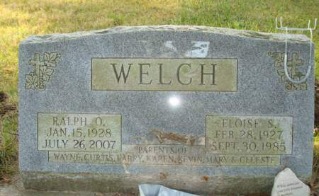 WELCH, RALPH O. - Clayton County, Iowa | RALPH O. WELCH