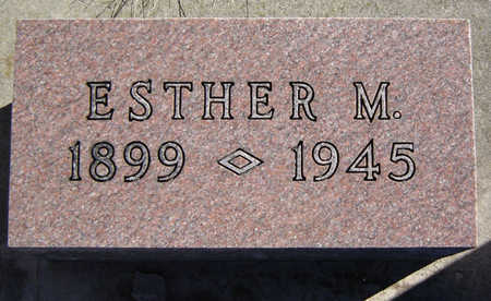 WESSEL, ESTHER M. - Clayton County, Iowa   ESTHER M. WESSEL