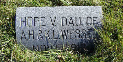 WESSEL, HOPE V. - Clayton County, Iowa | HOPE V. WESSEL