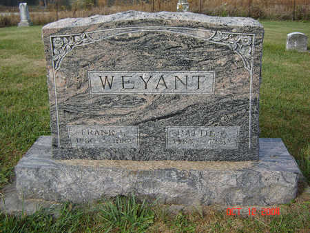 WEYANT, HATTIE E. - Clayton County, Iowa   HATTIE E. WEYANT