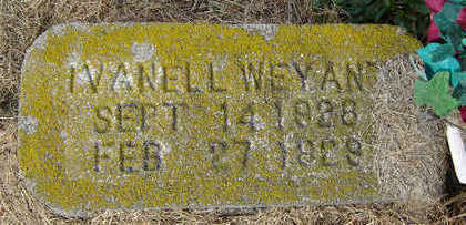WEYANT, IVANELL - Clayton County, Iowa | IVANELL WEYANT