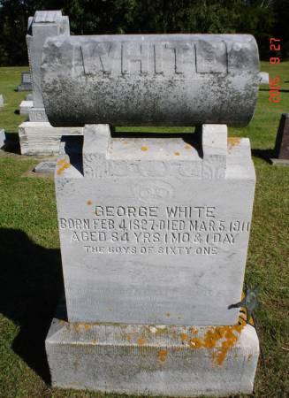 WHITE, GEORGE - Clayton County, Iowa | GEORGE WHITE