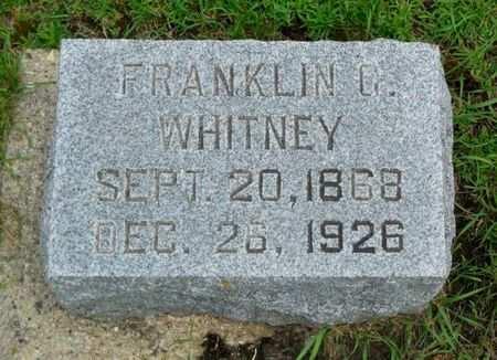 WHITNEY, FRANKLIN G. - Clayton County, Iowa | FRANKLIN G. WHITNEY