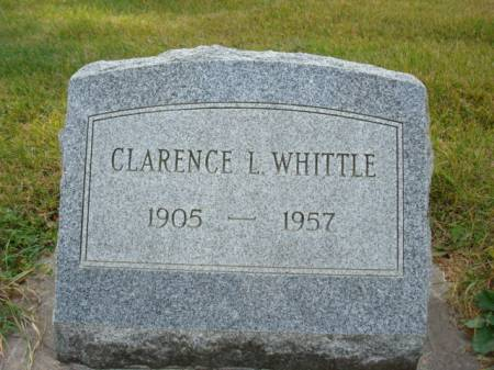 WHITTLE, CLARENCE L. - Clayton County, Iowa | CLARENCE L. WHITTLE