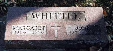 WHITTLE, MARGARET - Clayton County, Iowa | MARGARET WHITTLE
