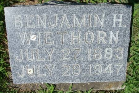 WIETHORN, BENJAMIN H. - Clayton County, Iowa | BENJAMIN H. WIETHORN