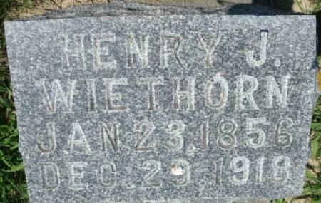 WIETHORN, HENRY J. - Clayton County, Iowa | HENRY J. WIETHORN