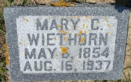 WIETHORN, MARY C. - Clayton County, Iowa | MARY C. WIETHORN