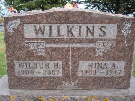 WILKINS, WILBUR H. - Clayton County, Iowa | WILBUR H. WILKINS
