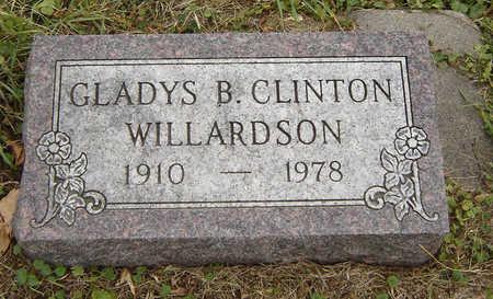 WILLARDSON, GLADYS B. - Clayton County, Iowa   GLADYS B. WILLARDSON
