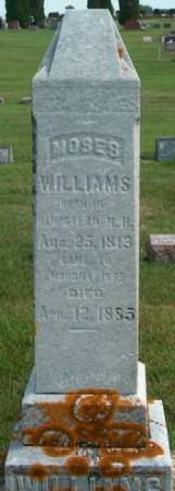 WILLIAMS, MOSES - Clayton County, Iowa | MOSES WILLIAMS