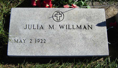 WILLMAN, JULIA - Clayton County, Iowa | JULIA WILLMAN