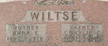 WILTSE, CHARLES EARL
