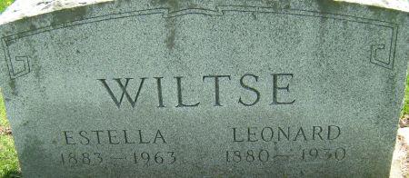 BALLUFF WILTSE, EDITH ESTELLA