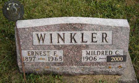 WINKLER, ERNEST F. - Clayton County, Iowa | ERNEST F. WINKLER