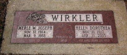 WIRKLER, INFANT DAUGHTER - Clayton County, Iowa | INFANT DAUGHTER WIRKLER