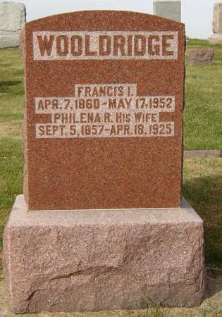 WOOLDRIDGE, PHILENA R. - Clayton County, Iowa | PHILENA R. WOOLDRIDGE