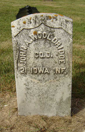 WOOLDRIDGE, JOHN A. - Clayton County, Iowa   JOHN A. WOOLDRIDGE