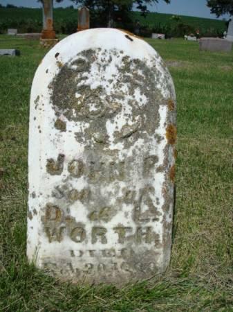 WORTH, JOHN P. - Clayton County, Iowa | JOHN P. WORTH