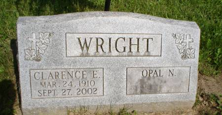 WRIGHT, CLARENCE E. - Clayton County, Iowa | CLARENCE E. WRIGHT