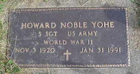 YOHE, HOWARD NOBLE - Clayton County, Iowa   HOWARD NOBLE YOHE