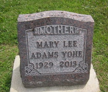 YOHE, MARY LEE - Clayton County, Iowa | MARY LEE YOHE