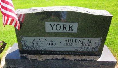 YORK, ALVIN E. - Clayton County, Iowa | ALVIN E. YORK