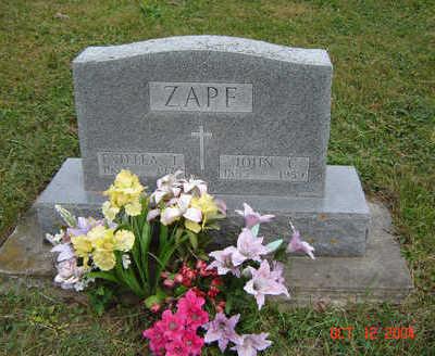 ZAPF, ESTELLA - Clayton County, Iowa | ESTELLA ZAPF