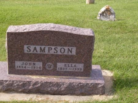 SAMPSON, ELLA - Clayton County, Iowa | ELLA SAMPSON