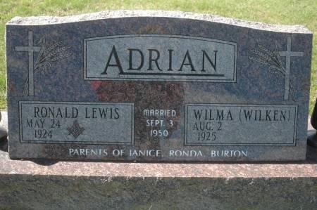 WILKEN ADRIAN, WILMA - Clinton County, Iowa | WILMA WILKEN ADRIAN