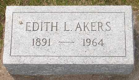 AKERS, EDITH L. - Clinton County, Iowa | EDITH L. AKERS