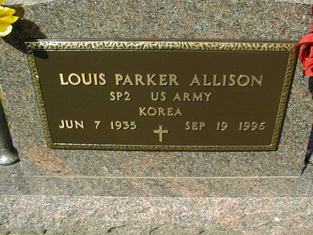 ALLISON, LOUIS PARKER - Clinton County, Iowa | LOUIS PARKER ALLISON