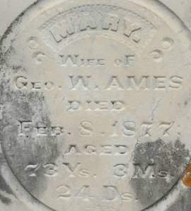 AMES, MARY - Clinton County, Iowa | MARY AMES