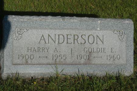 ANDERSON, GOLDIE E. - Clinton County, Iowa   GOLDIE E. ANDERSON