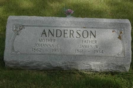 ANDERSON, JAMES W. - Clinton County, Iowa | JAMES W. ANDERSON