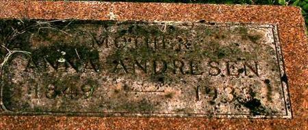 ANDRESEN, ANNA - Clinton County, Iowa | ANNA ANDRESEN
