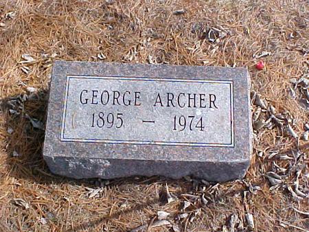 ARCHER, GEORGE VIRGIL - Clinton County, Iowa | GEORGE VIRGIL ARCHER