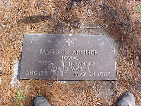 ARCHER, JAMES STEVEN - Clinton County, Iowa   JAMES STEVEN ARCHER