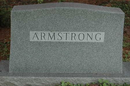 ARMSTRONG, MEMORIAL - Clinton County, Iowa   MEMORIAL ARMSTRONG