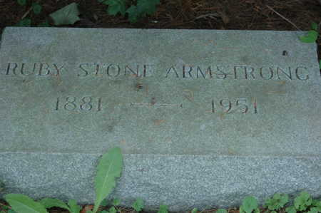 STONE ARMSTRONG, RUBY - Clinton County, Iowa | RUBY STONE ARMSTRONG