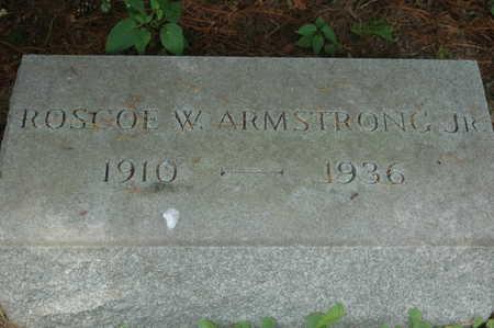 ARMSTRONG, ROSCOE WHALEN JR. - Clinton County, Iowa   ROSCOE WHALEN JR. ARMSTRONG