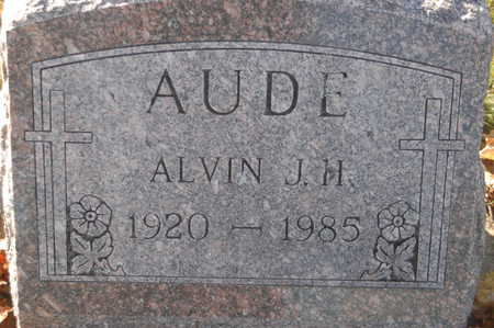 AUDE, ALVIN J.H. - Clinton County, Iowa | ALVIN J.H. AUDE